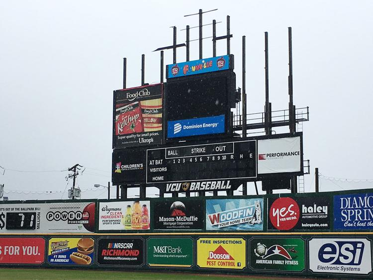 Flying Squirrels Video Board