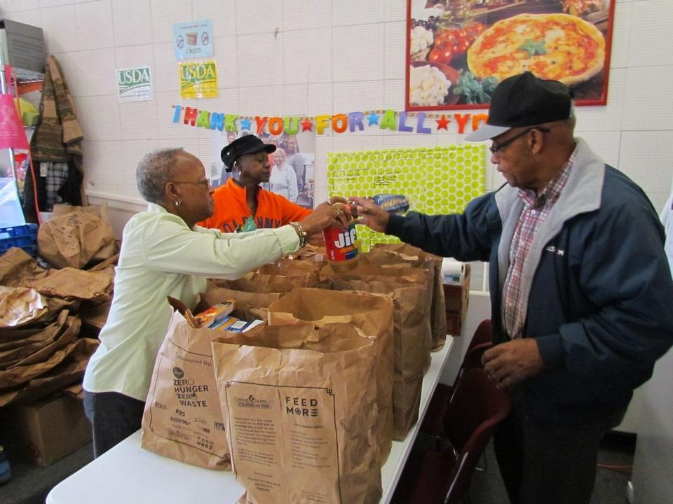 Food Bank Thanksgiving 2018