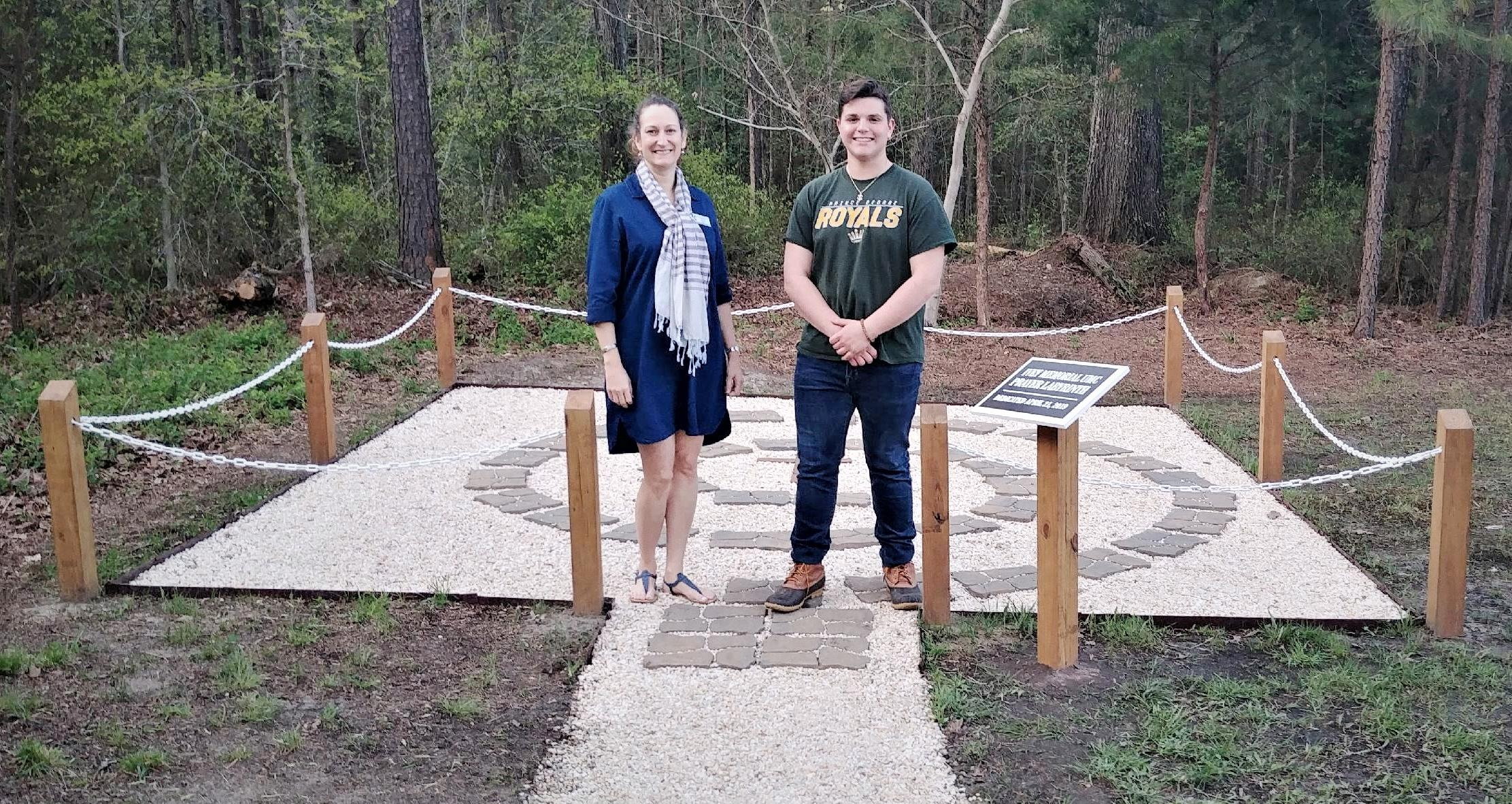 Ivey Memorial Prayer Labyrinth