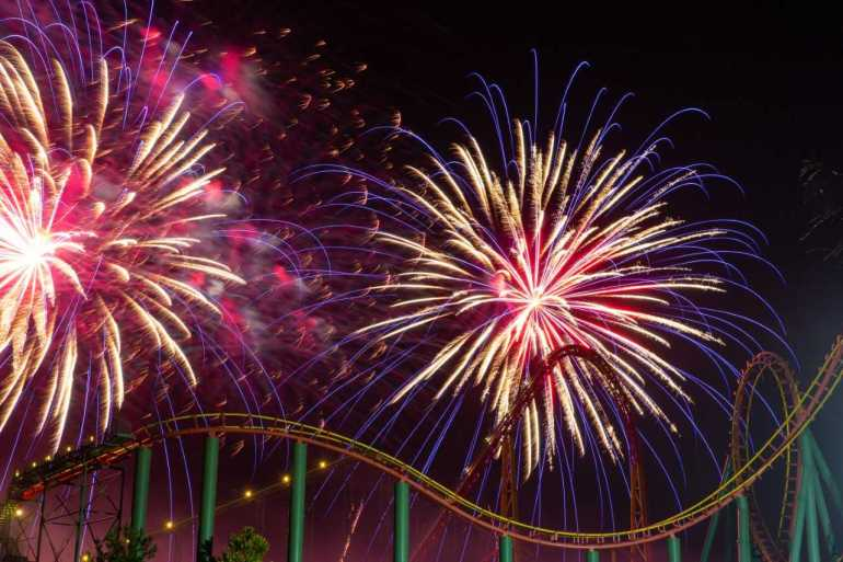 Kings Dominion Fireworks