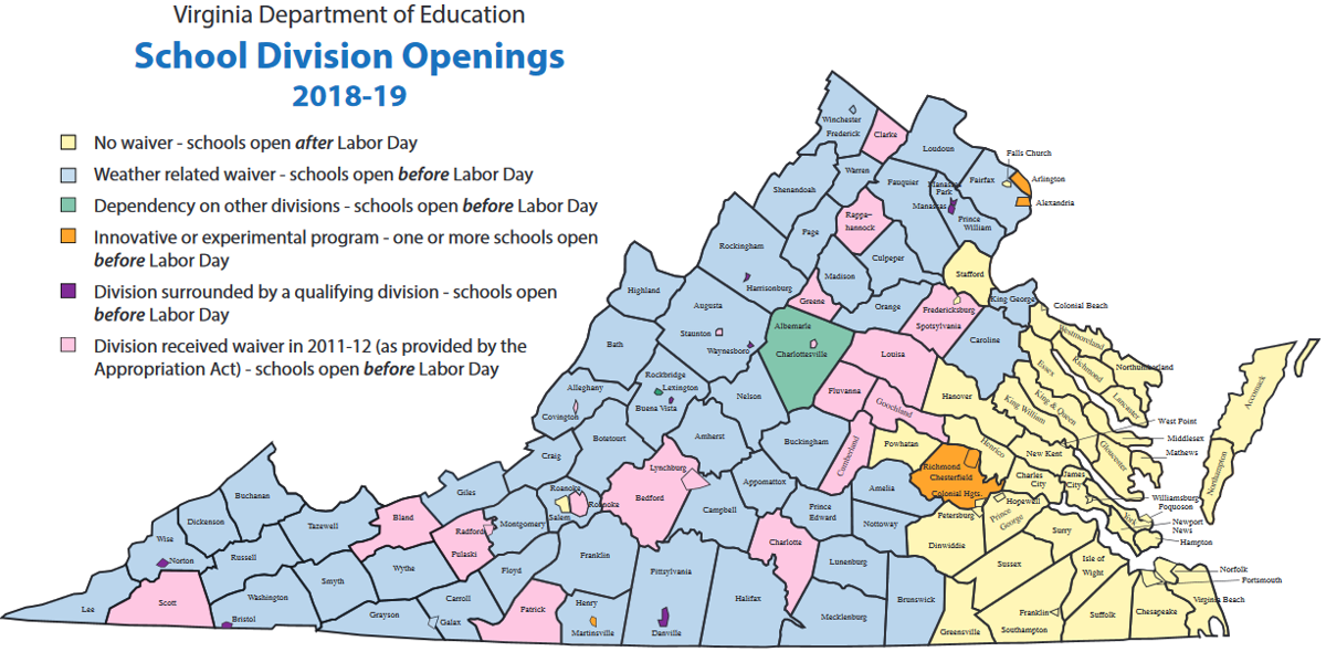 Pre-Labor Day VA Schools Map 2019 - Copy