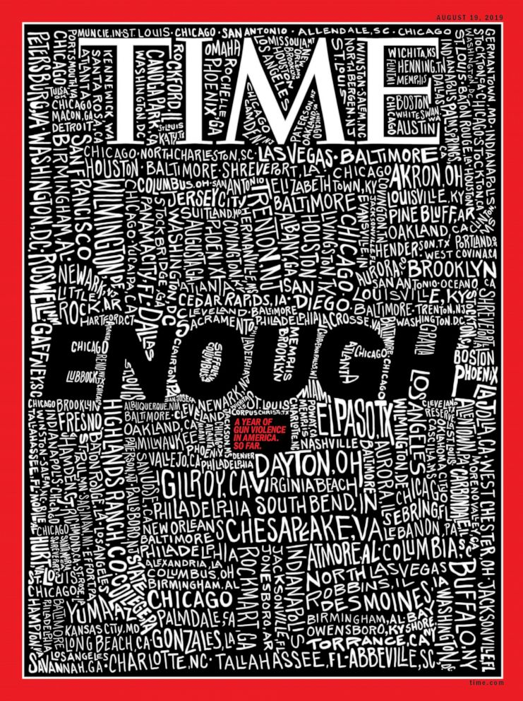 Time Magazine cover Sept 2019