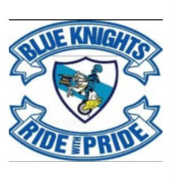 Blue Knights Ride with Pride logo