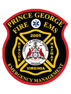 Prince George Fire and EMS badge