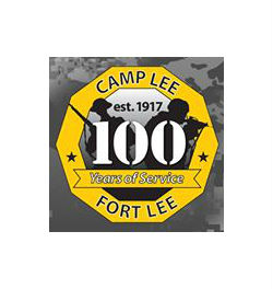 fort lee 100 years logo
