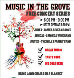 Music in the Grove Poster