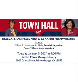 town hall with aird and dance