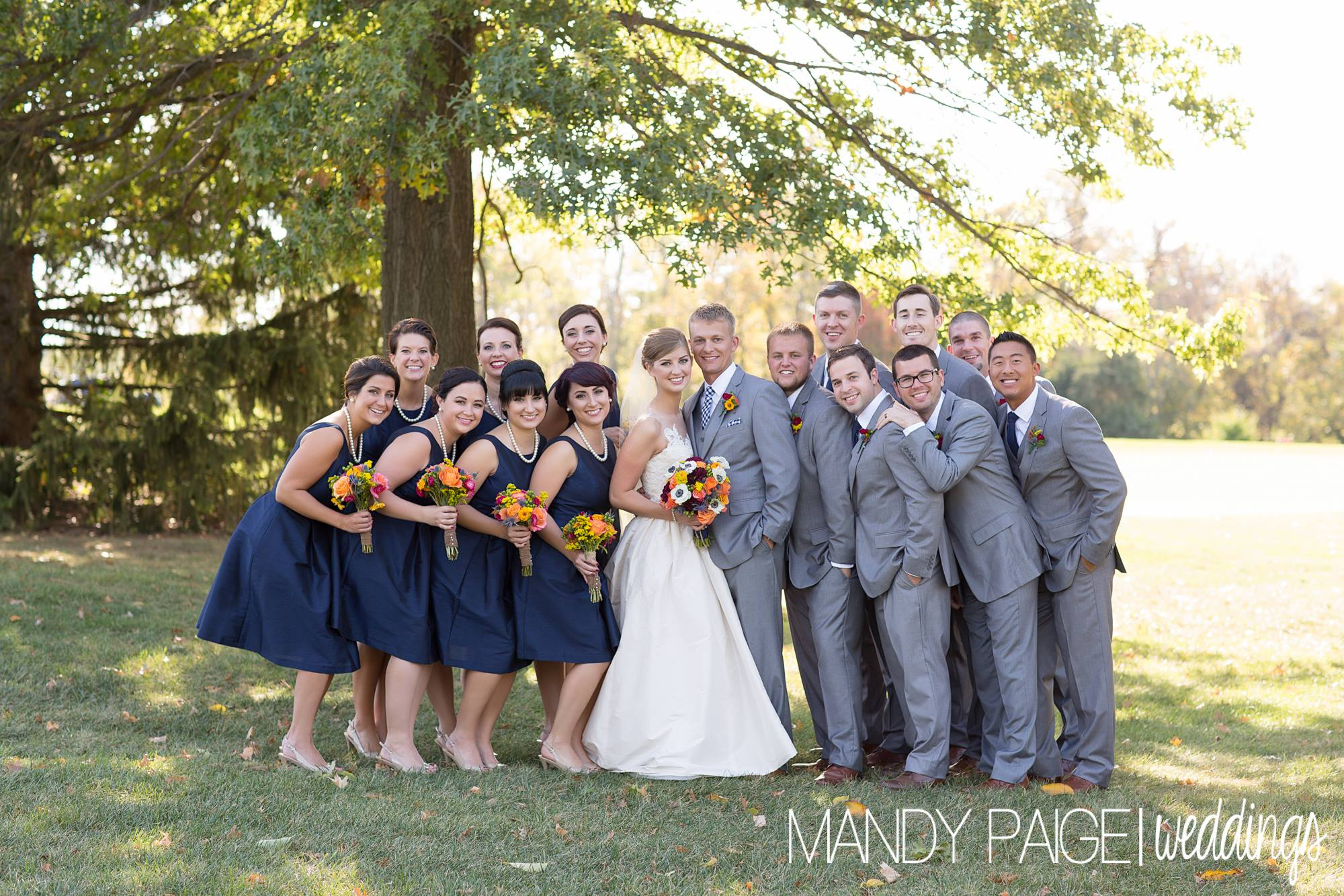 Bridal party nature
