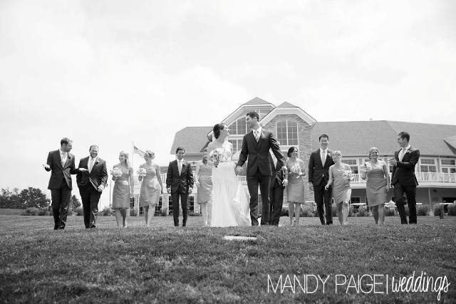 black and white wedding party website size