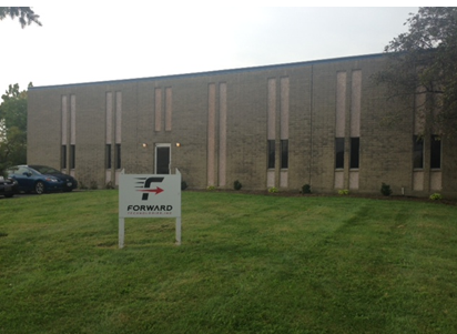 Forward Technologies new facility at 6150 Interstate Circle in Blue Ash.