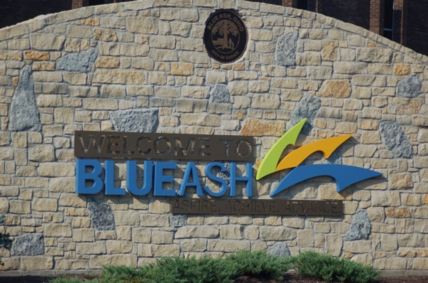 Blue Ash Welcome Wall