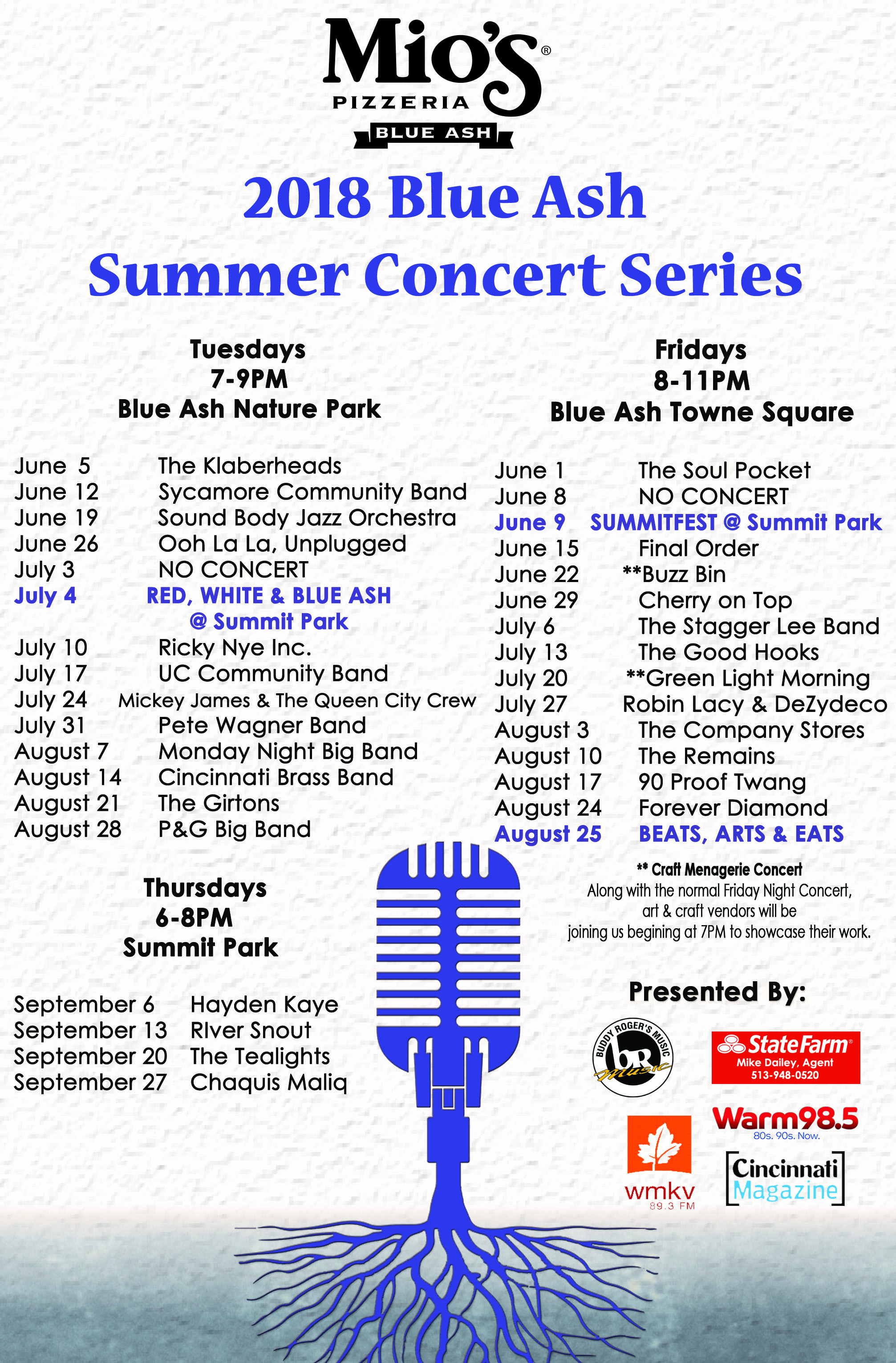 Concert Series Poster 2018