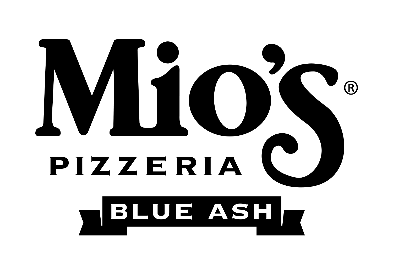 Mios Blue Ash Black & White