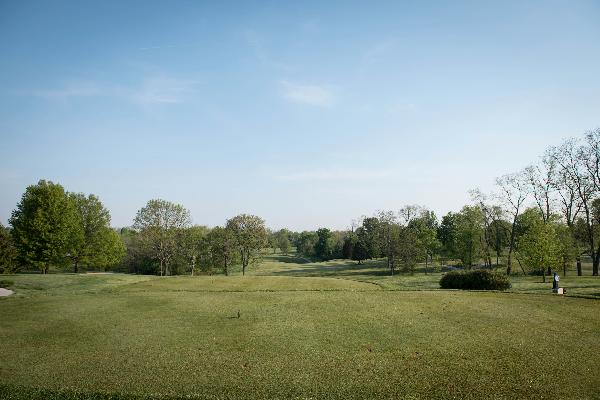 Tee Hole 1 Blue Ash Golf Course