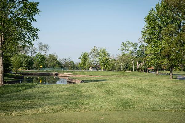 Hole 11 Tee Blue Ash Golf Course