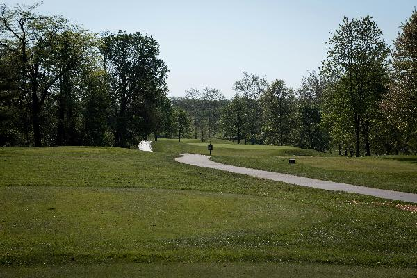 Hole 4 Tee Blue Ash Golf Course