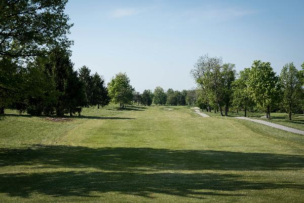 Hole 8 Tee Blue Ash Golf Course