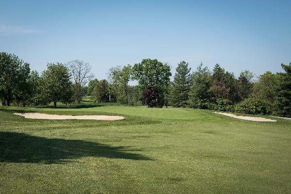Hole 8 Green Blue Ash Golf Course