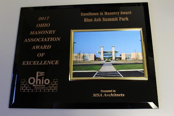 Summit Park receives masonry award