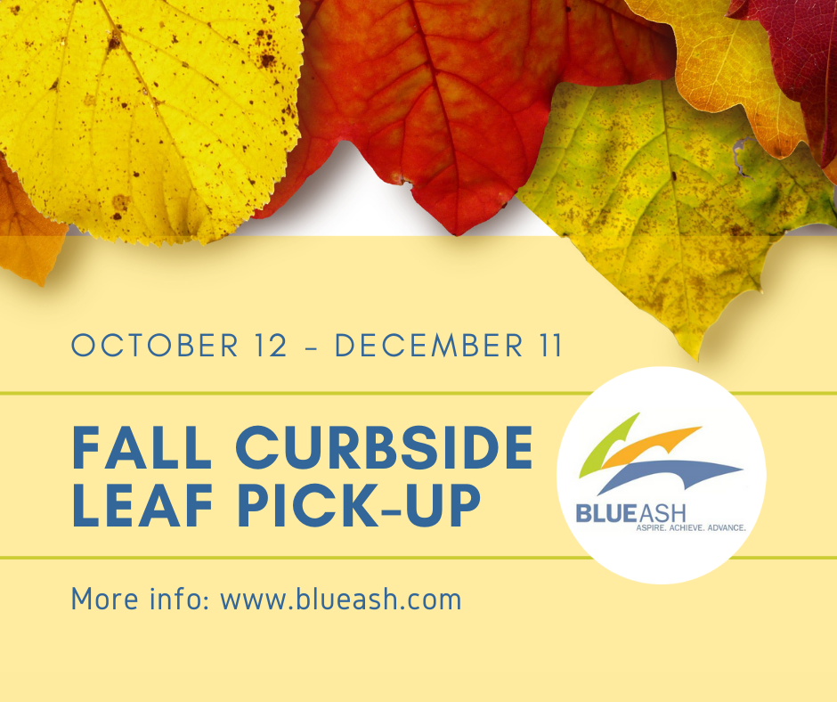 2020 fall curbside leaf pickup
