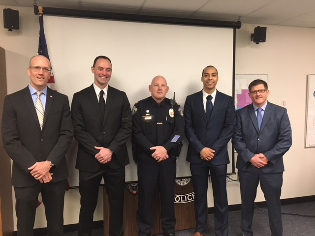 4 new officers