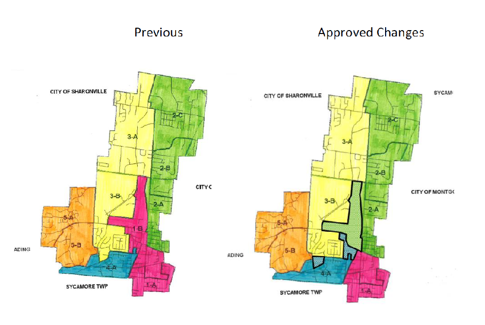 Approved City Council Ward Changes