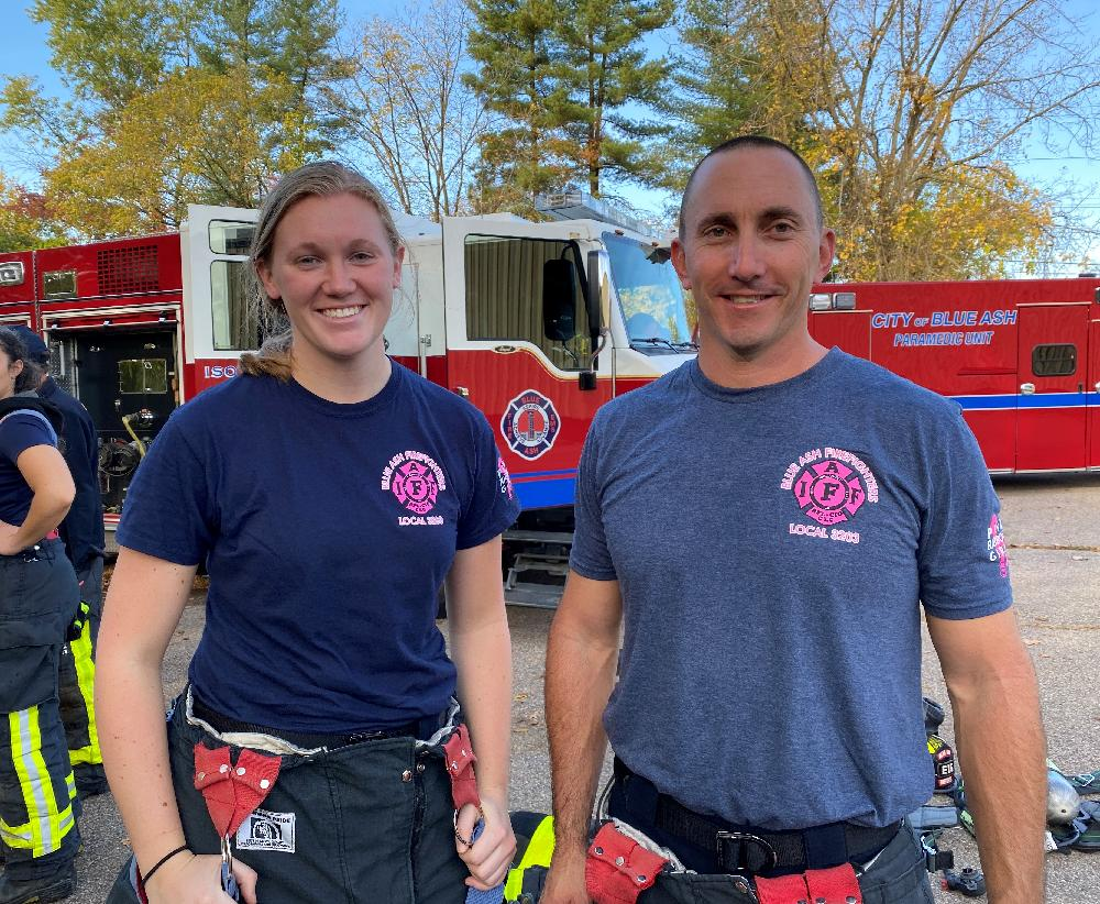 Lt Brian Mayer and Haley Dannemiller