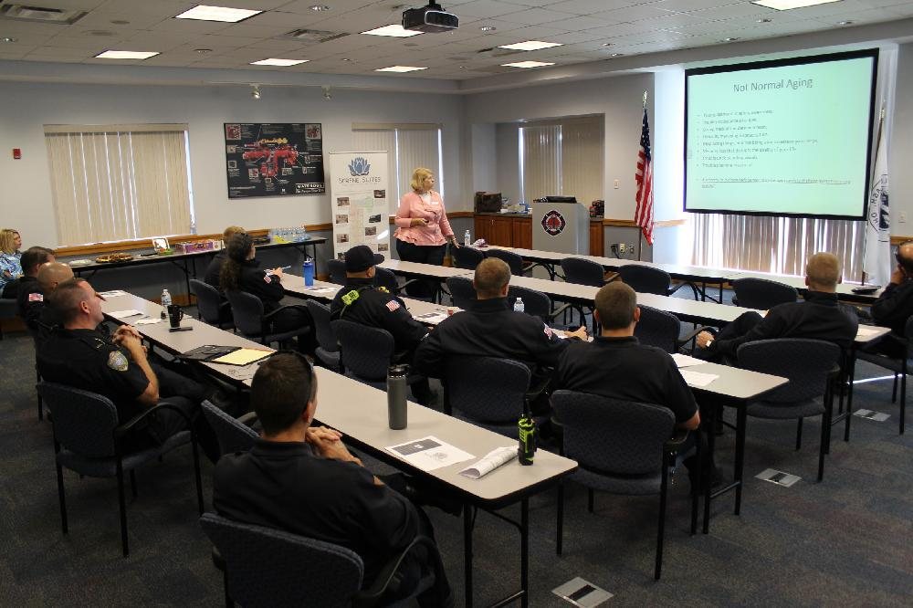 memory care training for police and fire