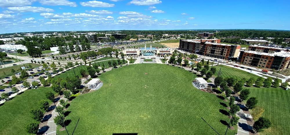 great lawn and canopy from tower2