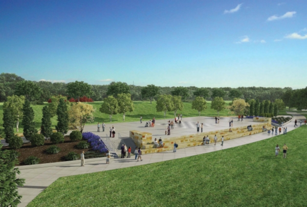 Blue Ash Summit Park Phase 2 Rendering Performance Stage