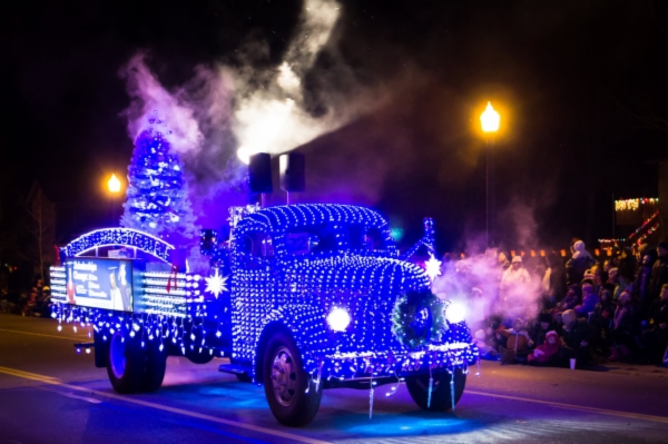 Winner of the  Fantasy of Lights Parade