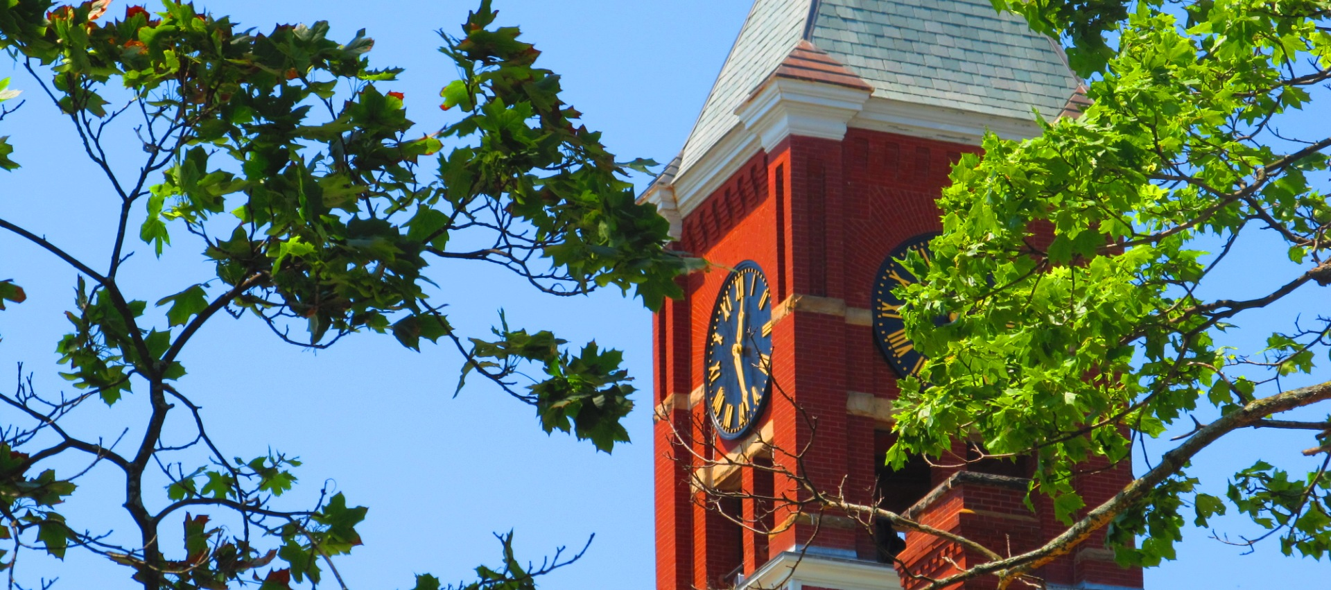 May   courthouse clock