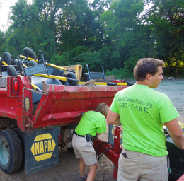 seasonal employment with Kent County Parks