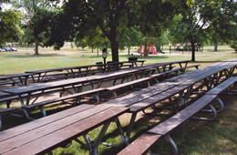 picnic area at johnson park