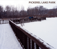 skiing at pickerel lake