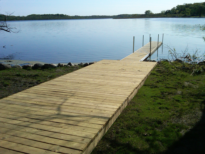 private dock for cottage