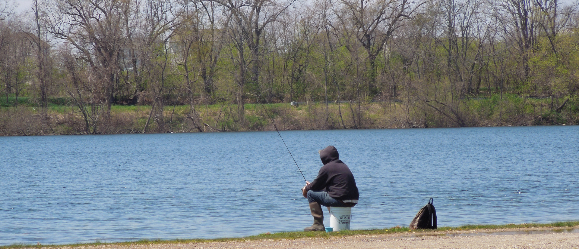 May fishing at Myers Lake