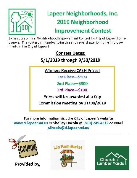 LNI Housing Improvement Contest