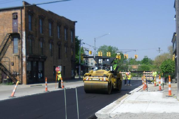 Commerce Road Paving