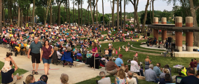 LaFontaine Family Amphitheater - Summer Concert 2015