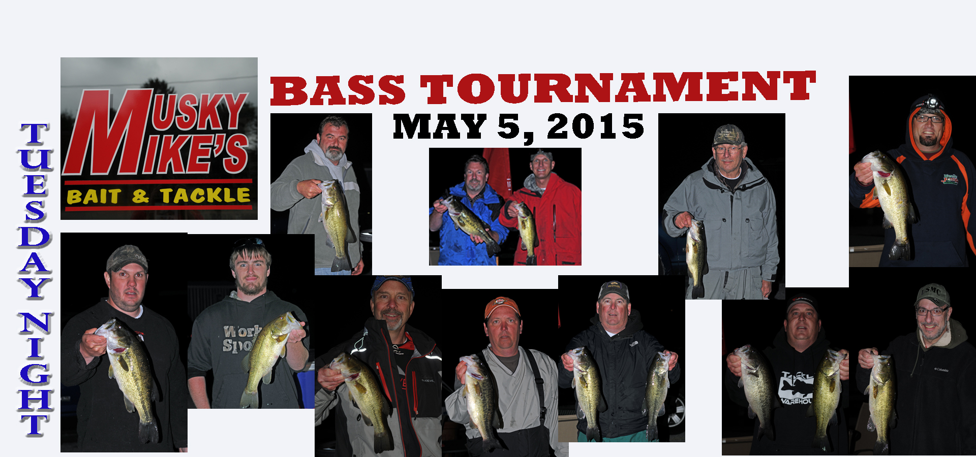 BASS TOURNAMENT MAY