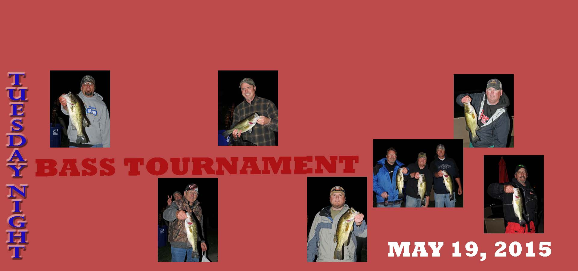 BASS TOURNAMENT may 19