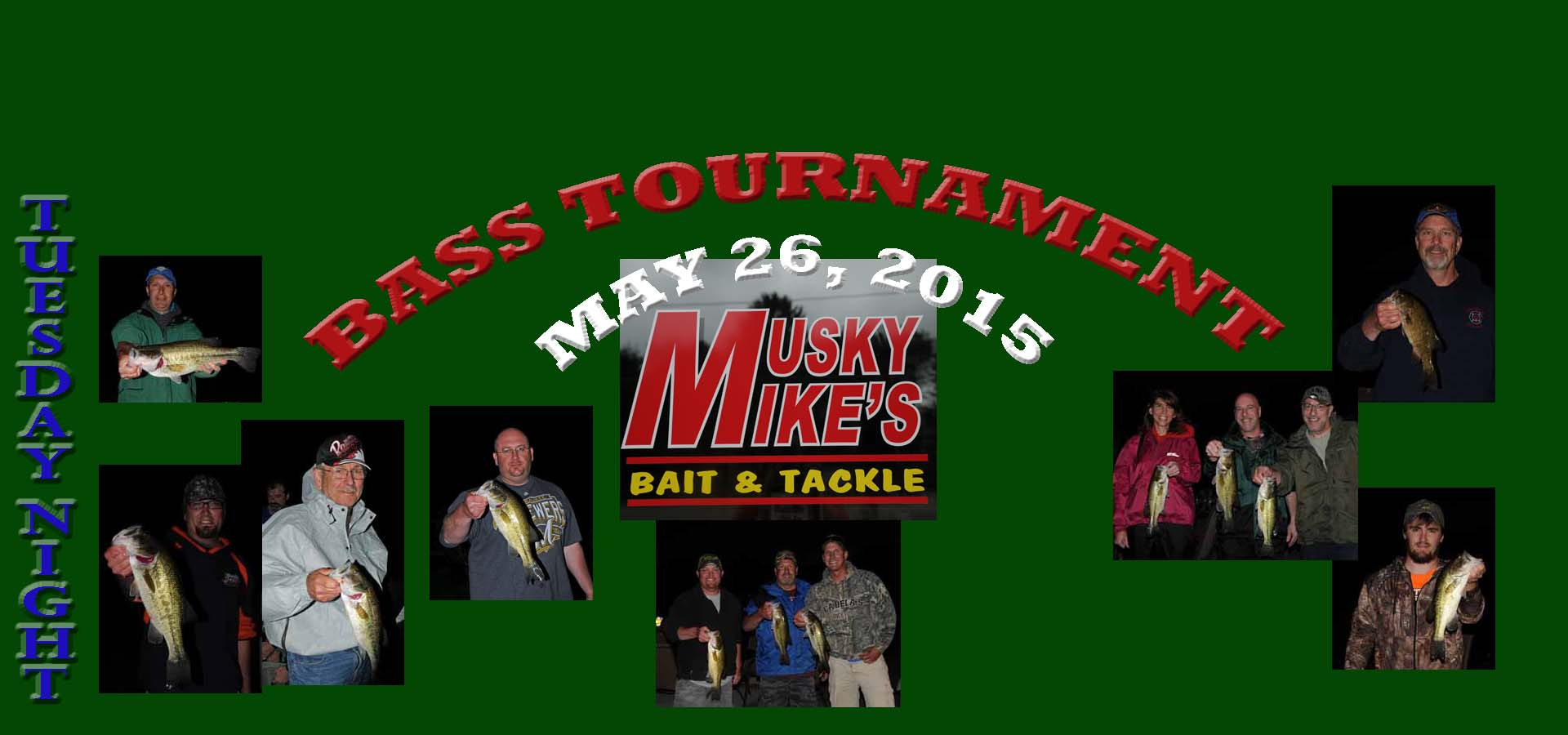 BASS TOURNAMENT may26