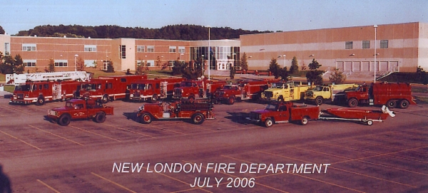 New London Fire Department Vehicles 2006