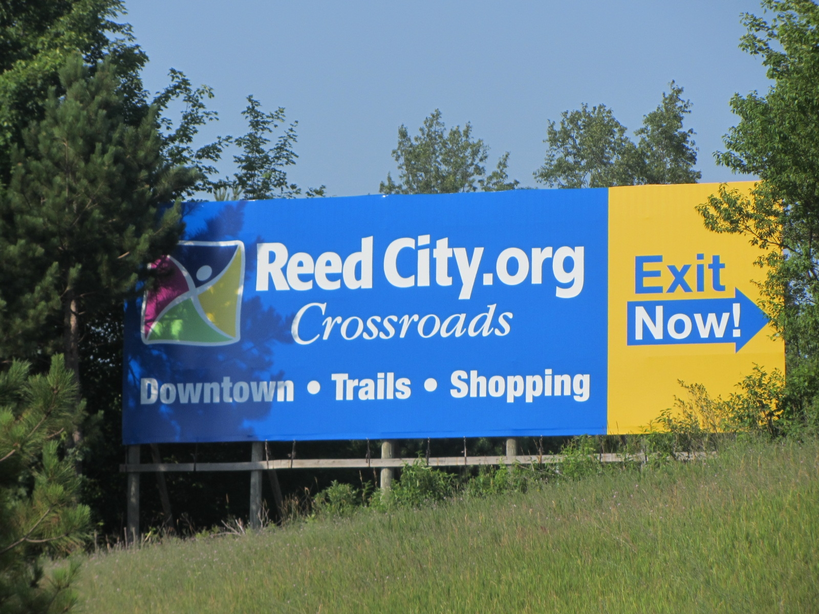 Reed City Exit Sign_1