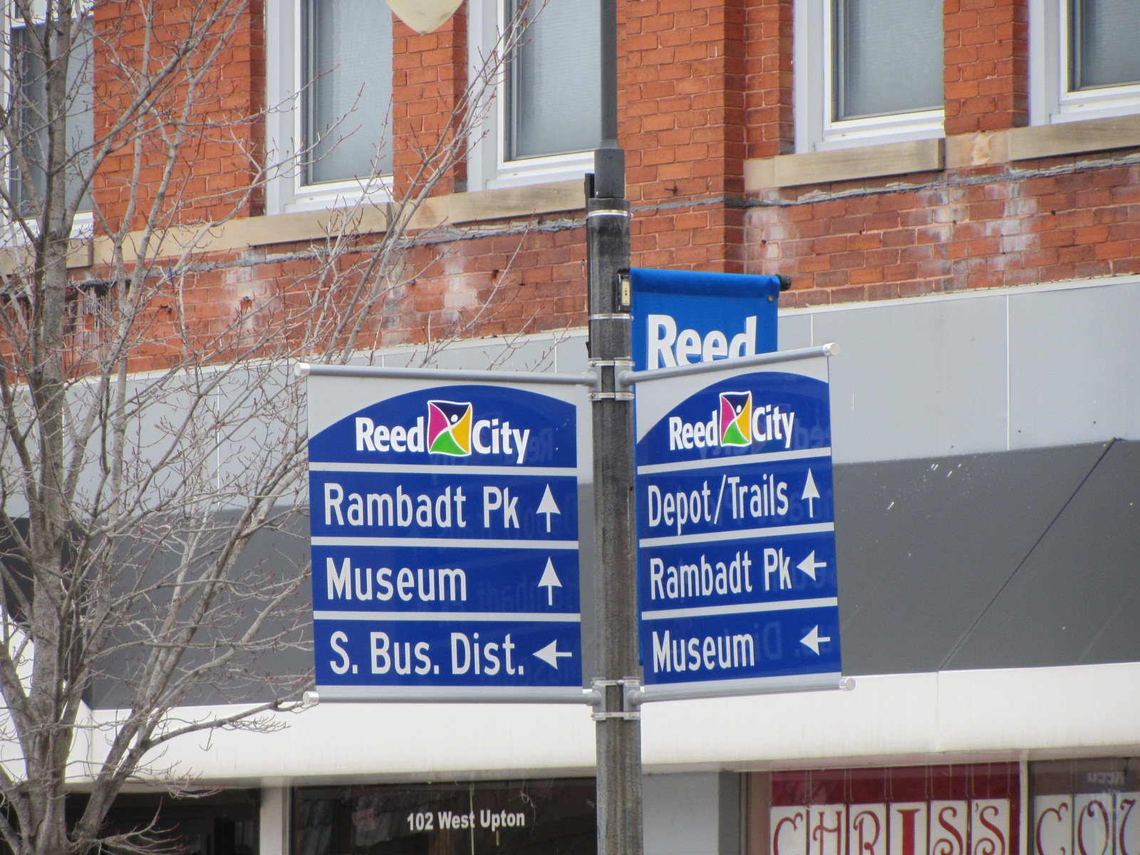 Reed City Wayfinding Signs_1