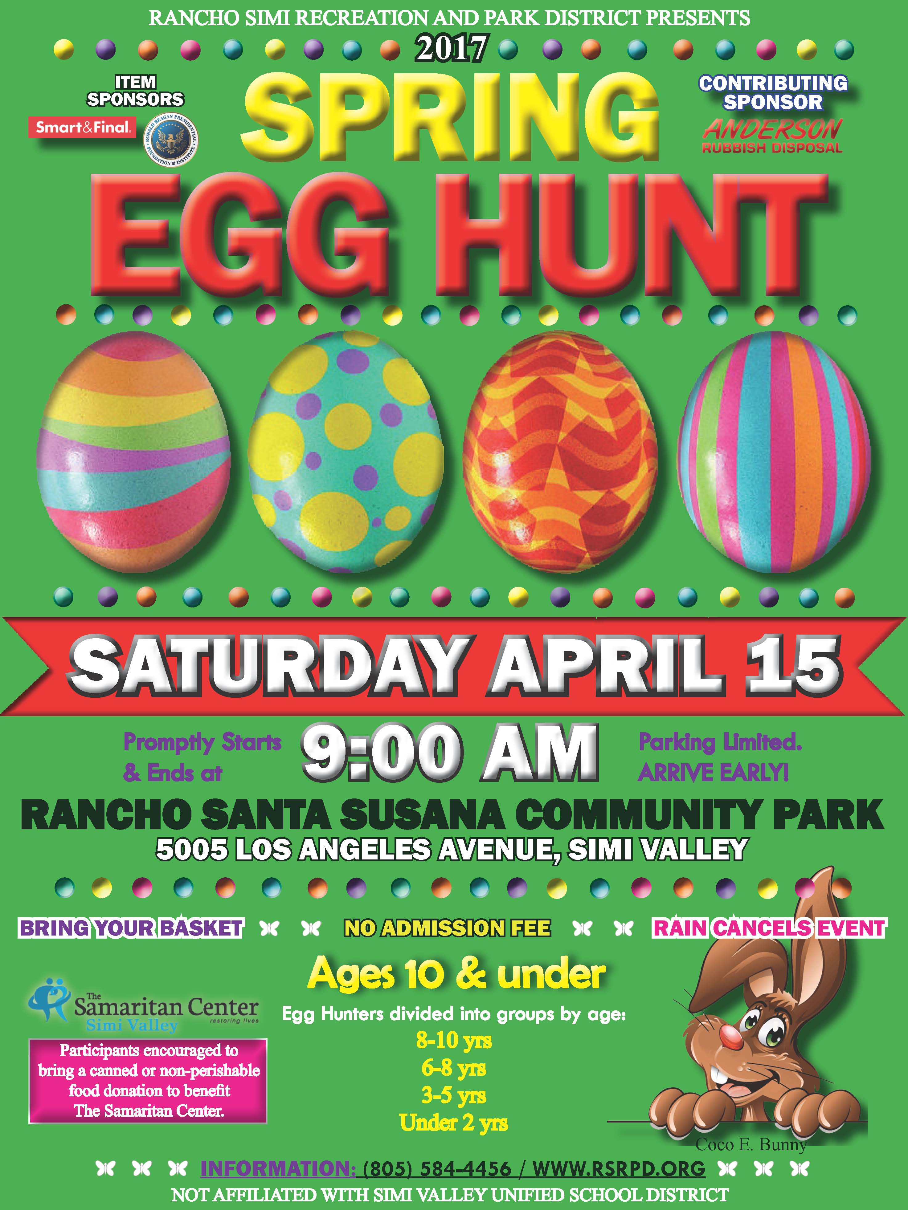 Egg Hunt Flyer 2017 wSpons