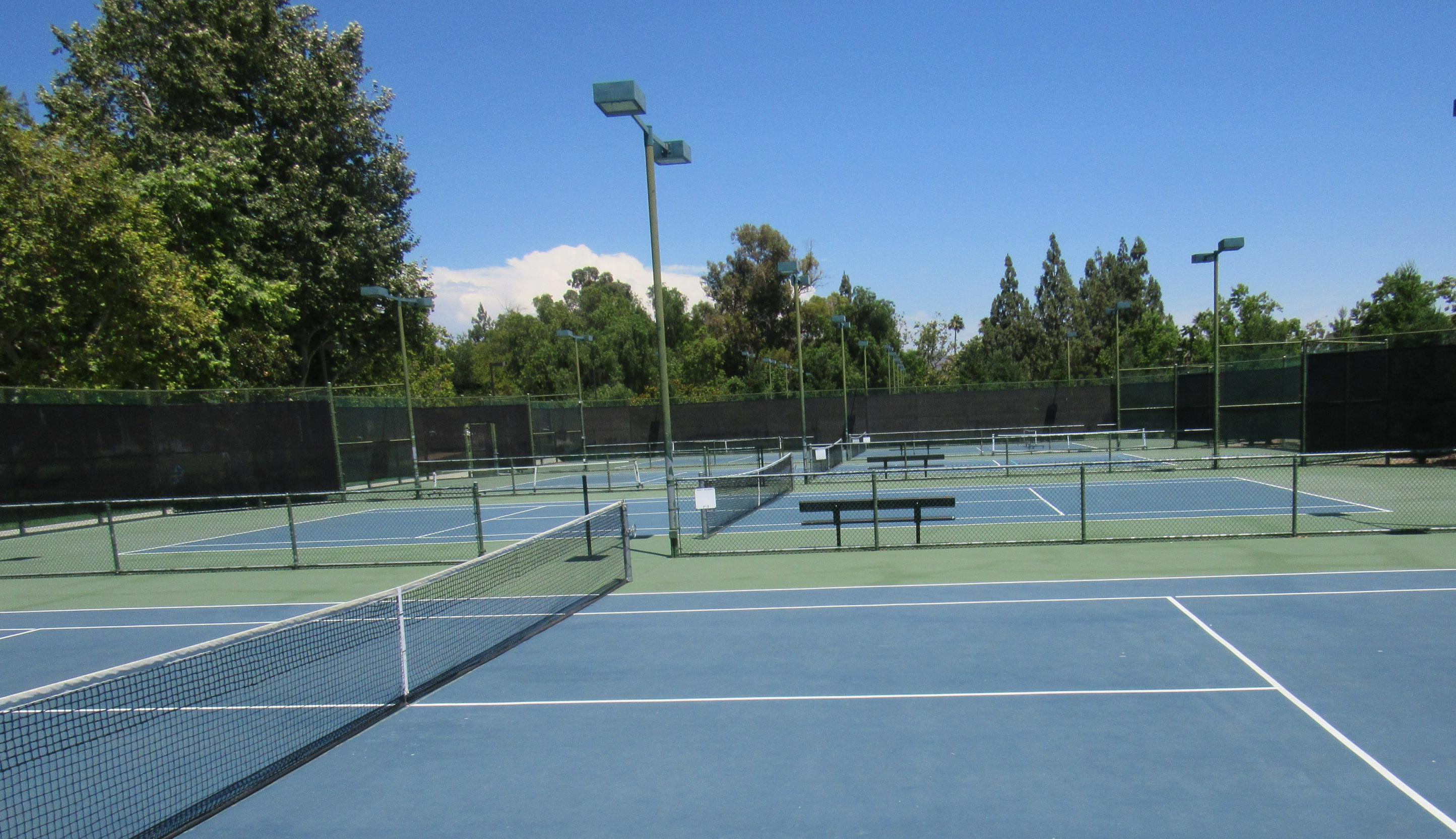 RTCP Pickle ball and tennis courts