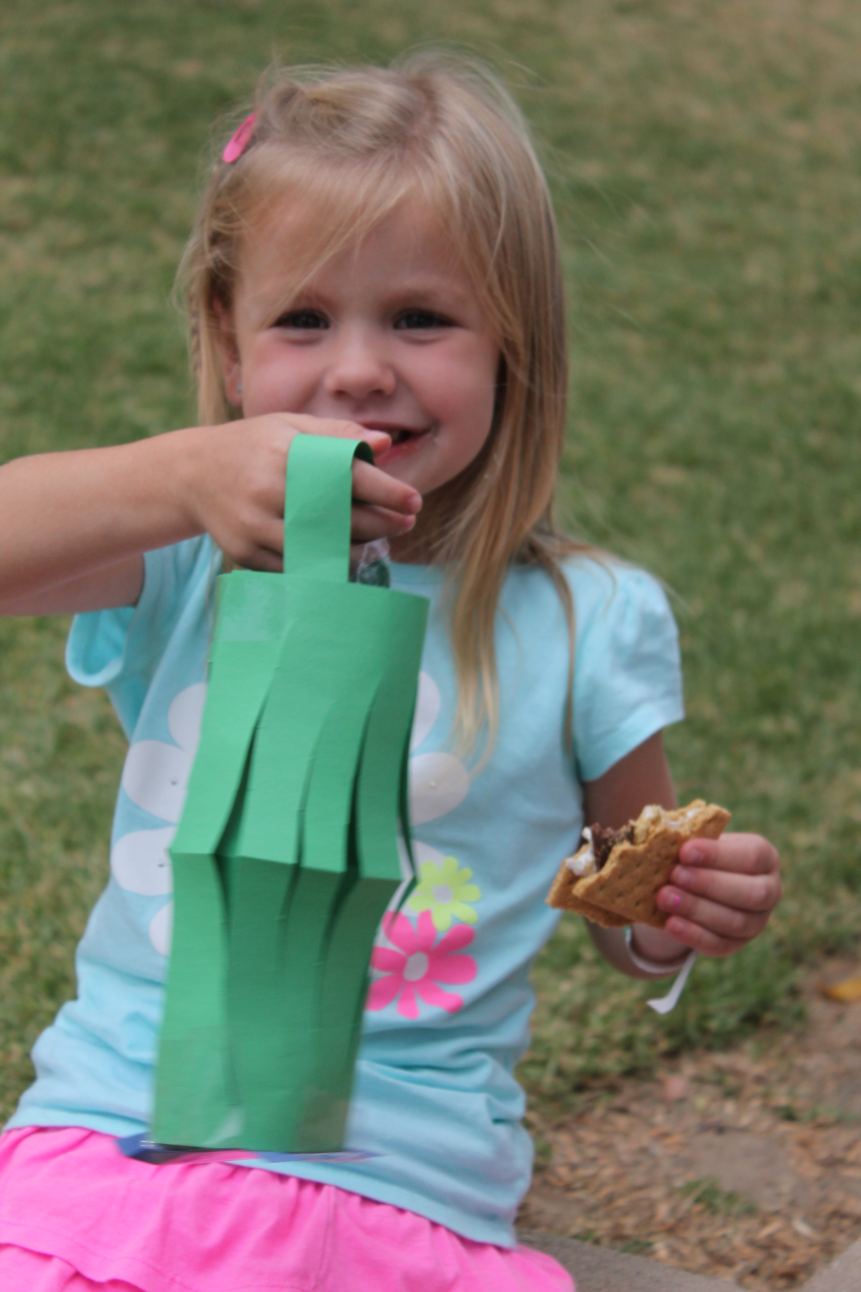 Family Camp Out Lantern Craft