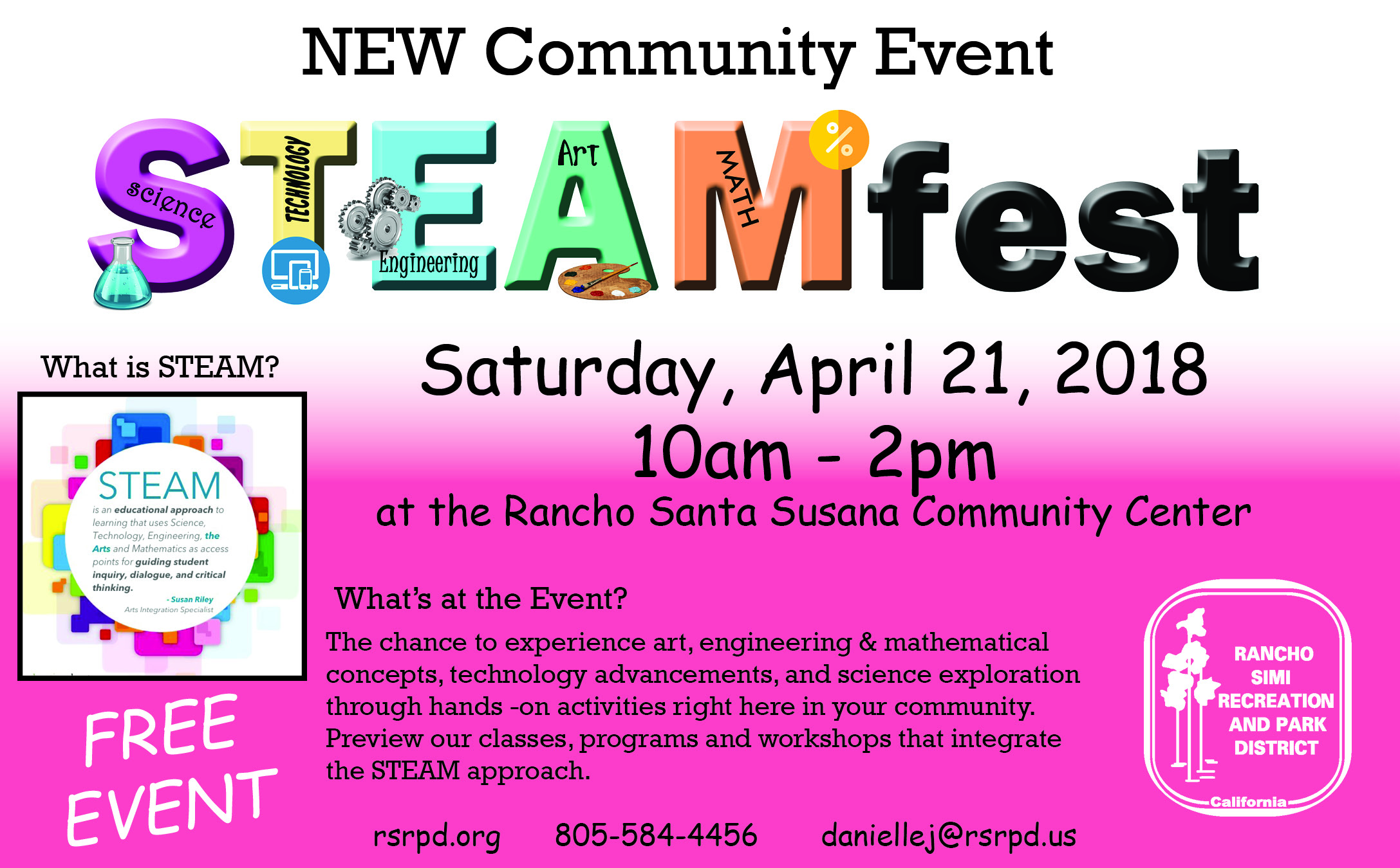 STEAMfest Reporter Ad - half page